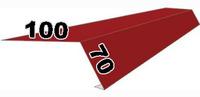 Карнизная планка 100х70 мм