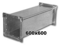 Воздуховод 600 x 600 мм (1 метр погонный)