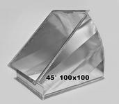 Отвод 45° 100 x 100 мм