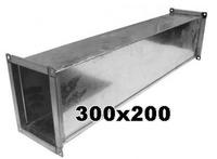 Воздуховод 300 x 200 мм (1 метр погонный)