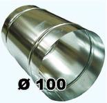Воздуховод Ø 100 мм (1 метр погонный)