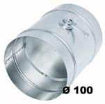Дроссель клапан  Ø 100