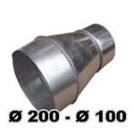 Переход Ø200 – Ø100