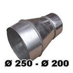 Переход Ø 250- Ø200
